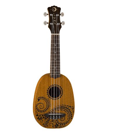 Luna Tattoo Pineapple Ukulele