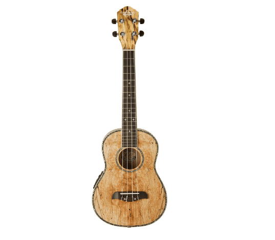 Oscar Schmidt OU7TE Spalted Mango Tenor Acoustic Electric Ukulele Review